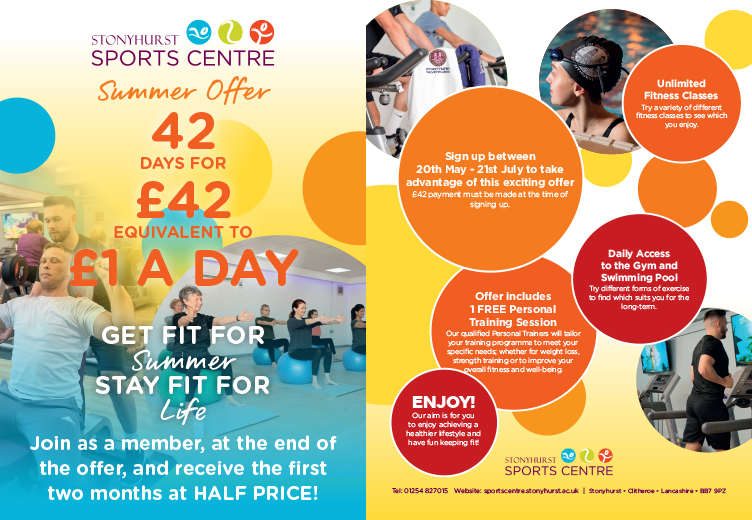 42 Days For £42 - Introductory Summer Offer | Stonyhurst